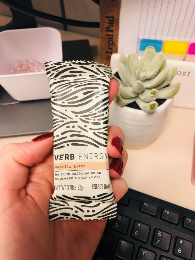 Vanilla latte verb bar