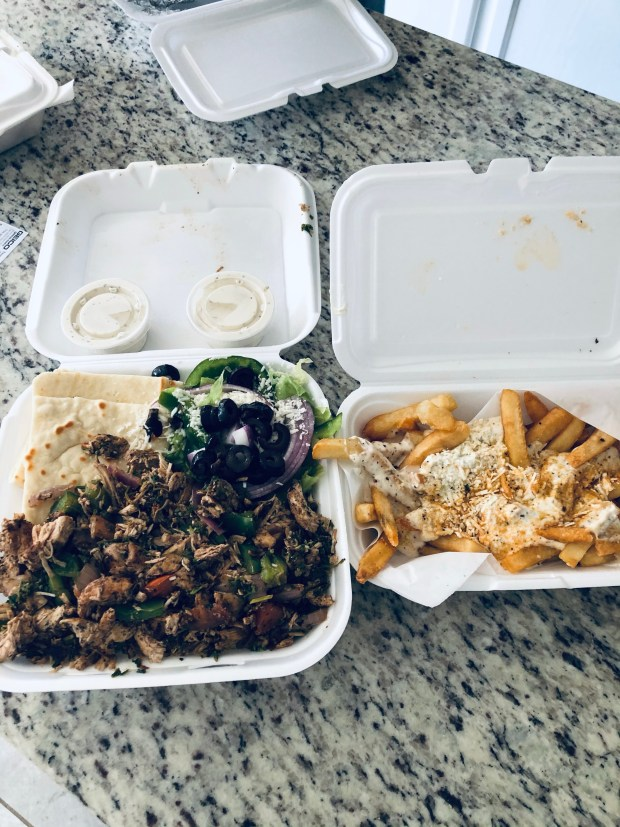 Greek food haul