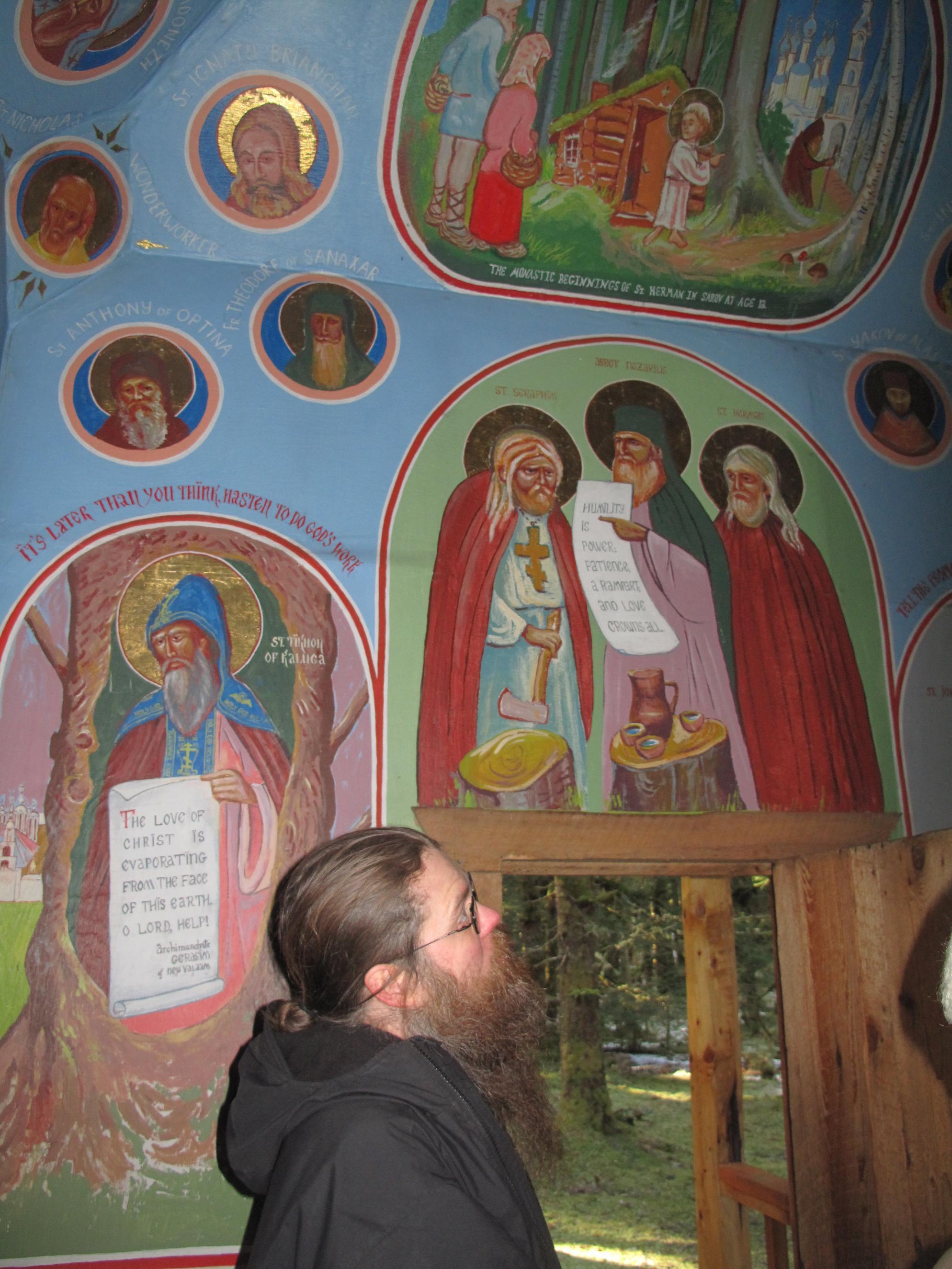 Biserica Sf Gherman din Alaska, Spruce Island