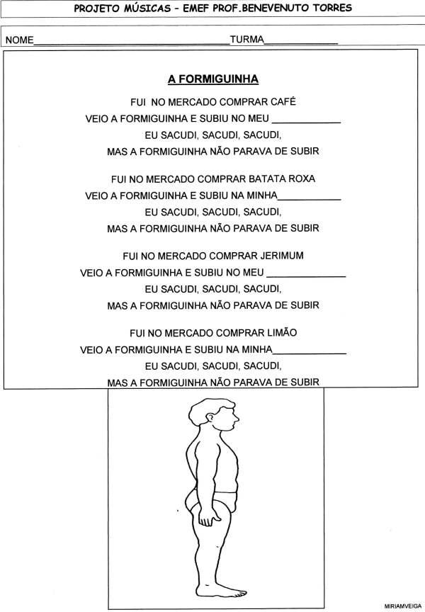 Projeto música-Formiguinha