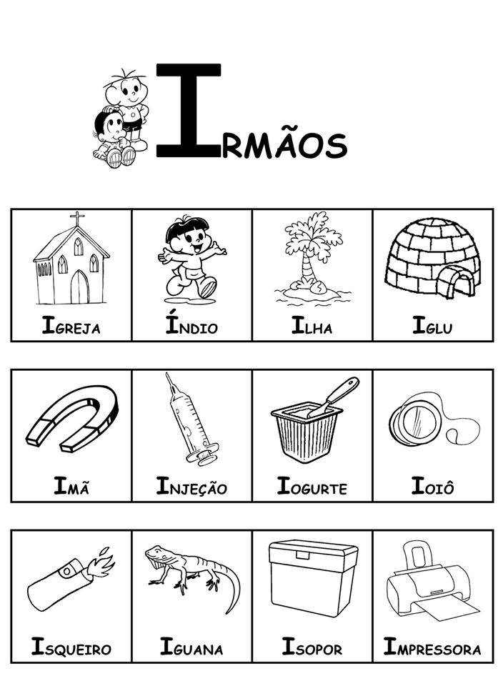 Dicionário da Turma da Mônica-Parte 2 - I