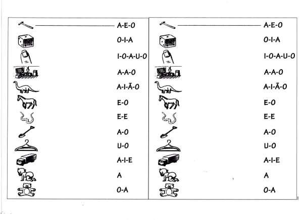 Atividade para trabalhar o som das vogais-Parte 1