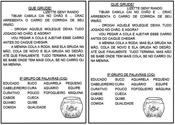 Leitura e interpretação-Grupos de Palavras-5