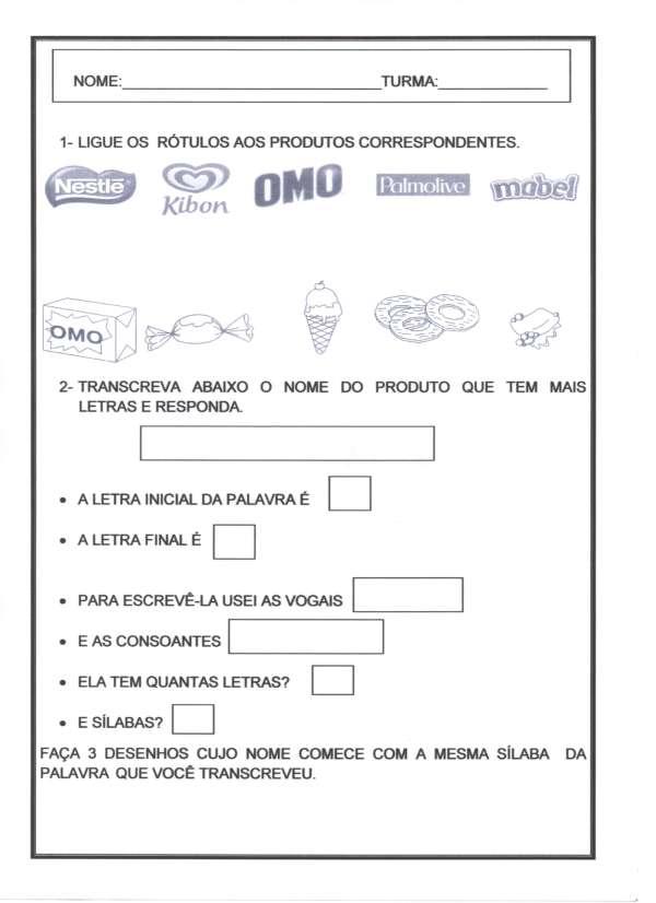 Avaliação Diagnóstica 2 Ano-Português com Rótulos-1