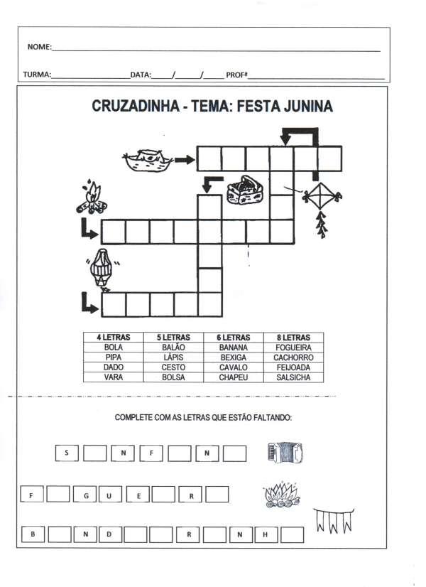 Festa Junina-Cruzadinha Junina