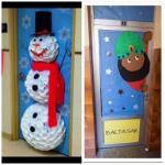 Enfeites para portas de sala de aula 1