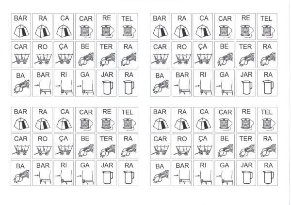 Dificuldades Ortográficas-Figuras com Sílabas-RR
