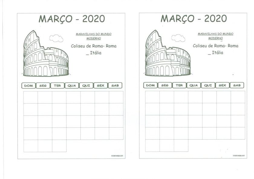 Calendário 2020-Março-Aluno'