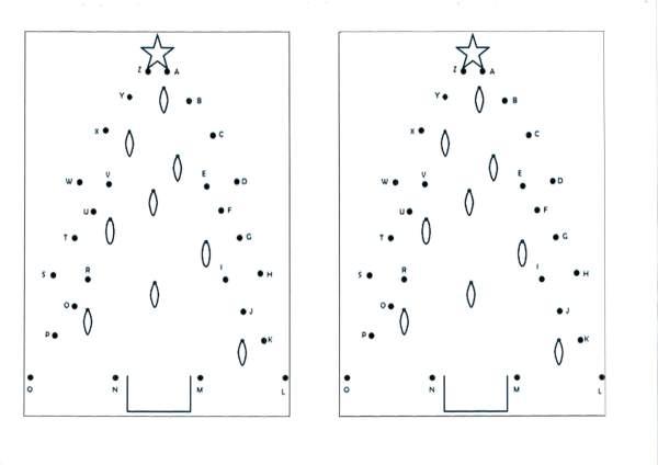 Alfabeto ligar os pontos e Cartãozinho-Folha 1