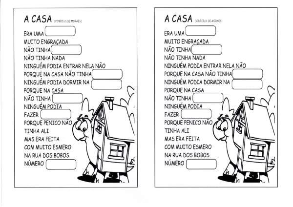 Poema A Casa-Vinícius de Moraes
