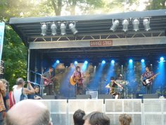 The Ali Warren Band at United Islands Festival, Prague