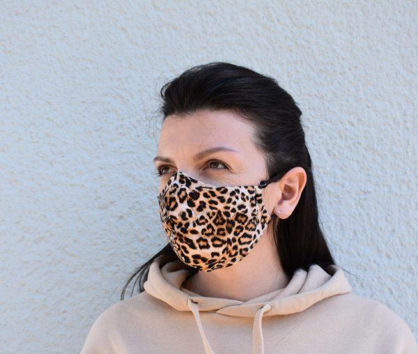 Behelfs Gesichtsmaske Mundschutz Schutzmaske Stoffmaske Baumwollmaske waschbar wiederverwendbar