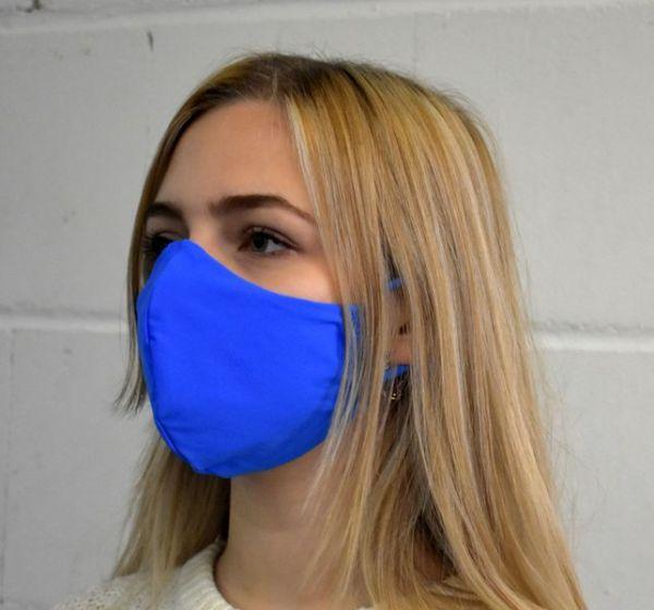 Gesichtsmaske, Schutzmaske Mundschutz blau