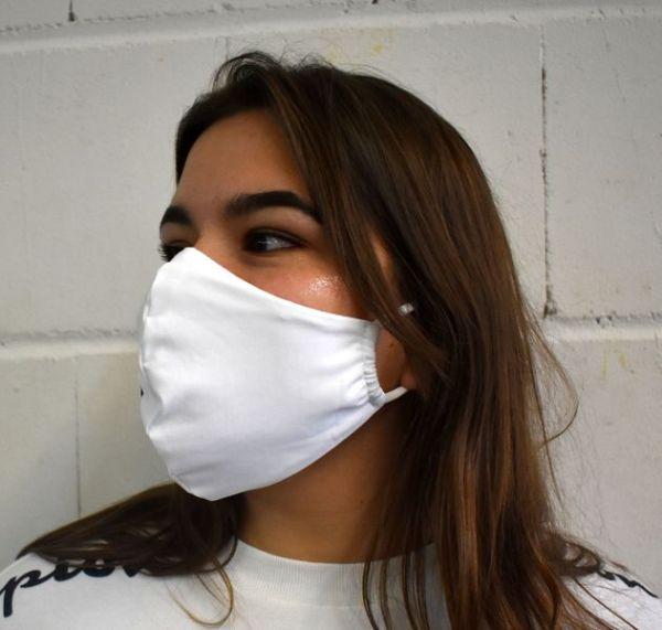 Schutzmaske,Gesichtsmaske,Mundnasenschutz Maske weiß