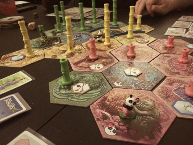 Takenoko Chibis, with the new taller bamboo forests