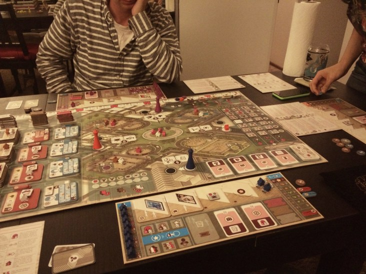 Gallerist, early game, only 5 artists discovered