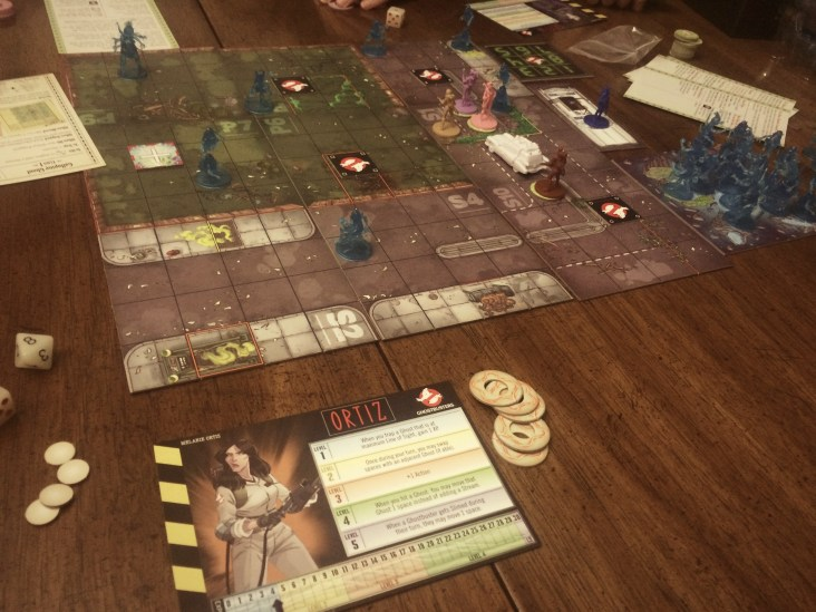 Ghostbusters The Board Game, omw to level 2