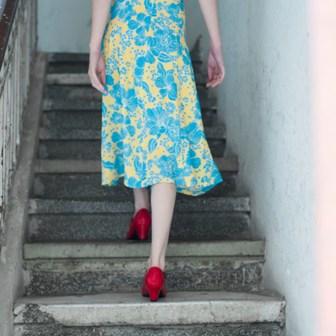 שמלה אביב קיץ 2016