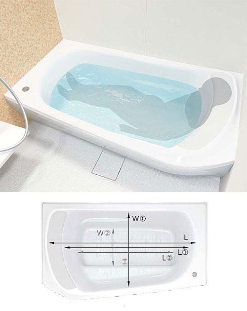 ファーストクラス浴槽 ワイドステップ付