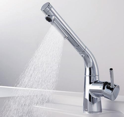 水ほうき水栓