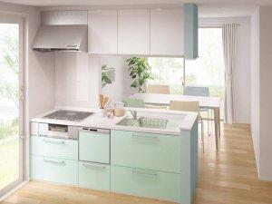 キッチン Vスタイル プラン6