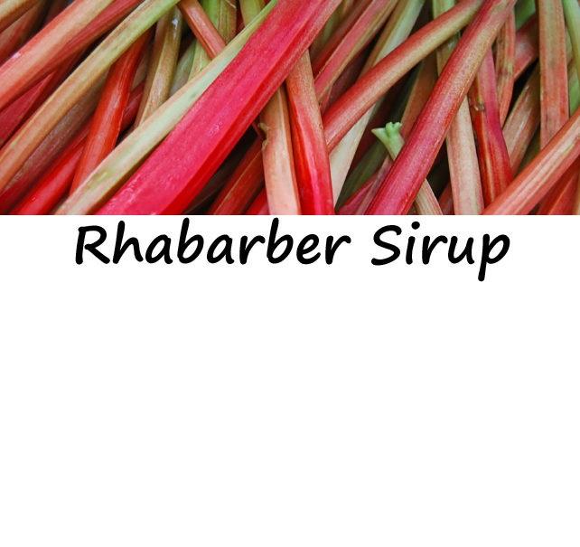Rhabarber Sirup 250ml