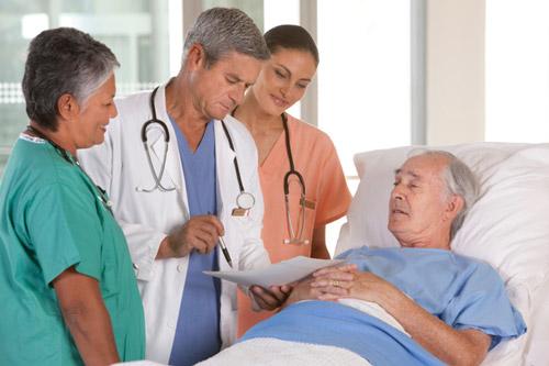 Лечение больного в стационаре
