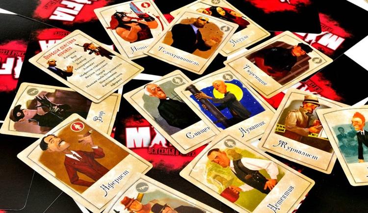 Настольная игра Мафия вся семья в сборе: правила