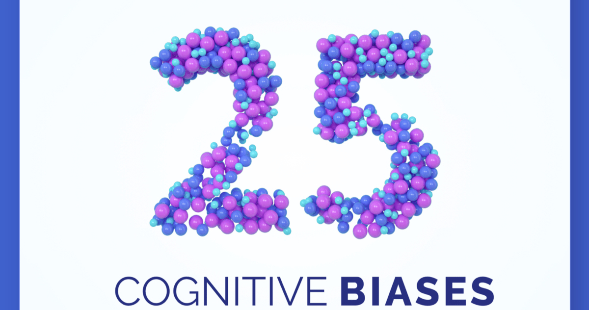 25 Cognitive Biases each UX Designer ought to know