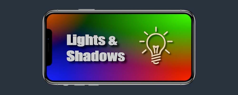 realitykit 911 lighting and shadows