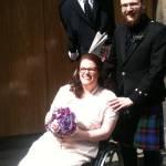 My Wedding Dress My Wheelchair Me By Lorna Duff Howie Medium