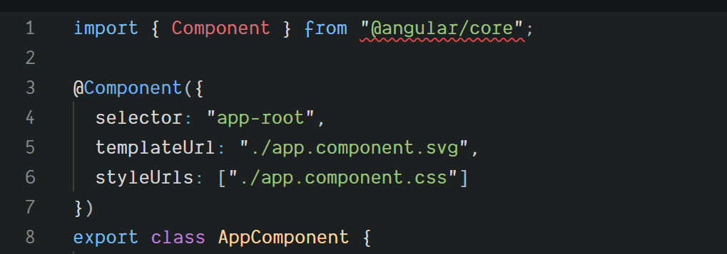Using Svg Files As Component Templates With Angular Cli