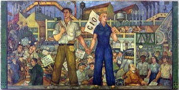 Image result for 1936 – The United Auto Workers union in the Flint, Michigan, stages its first sit-down strike.