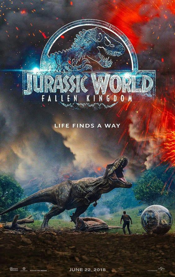 Review】Jurassic World: Fallen Kingdom (2018) - Alex Tso - Medium