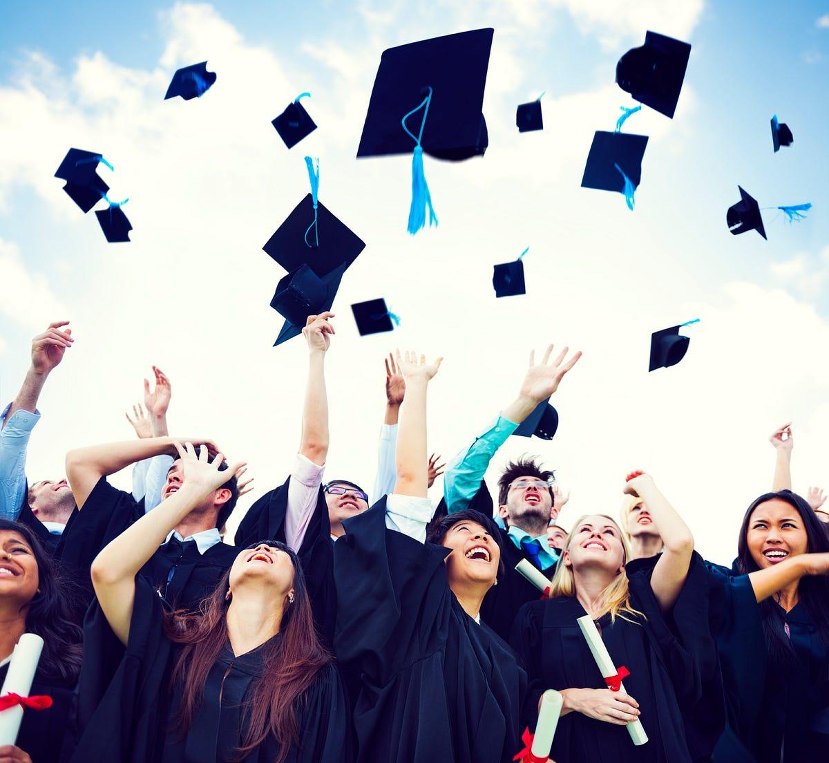 Graduation Day Image Analysis The Day Of High School Students By Ga Hay Stanton Cinema Medium