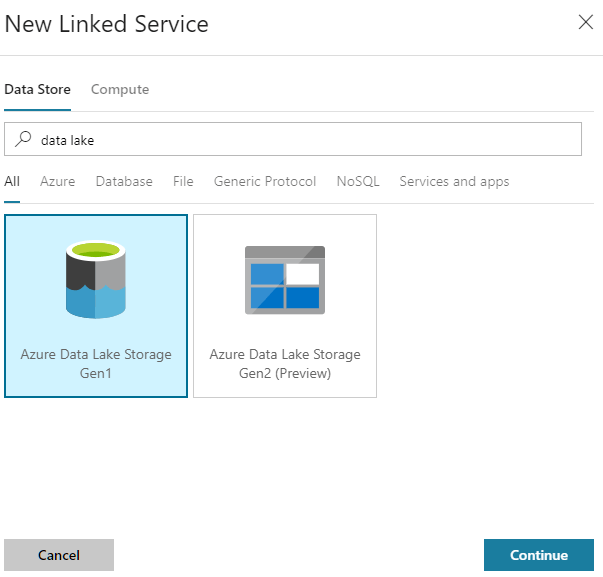 How To Connect Azure Data Factory To Data Lake Storage Gen1 Part 1 2 By Andrew Kelleher Azure Architects Medium
