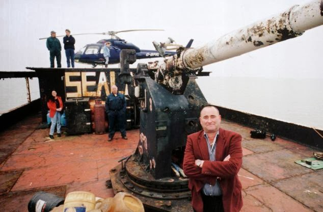 The Principality of Sealand: Easily the World's Most Famous Micro Nation   by Alex Beyman   Data Driven Investor   Medium