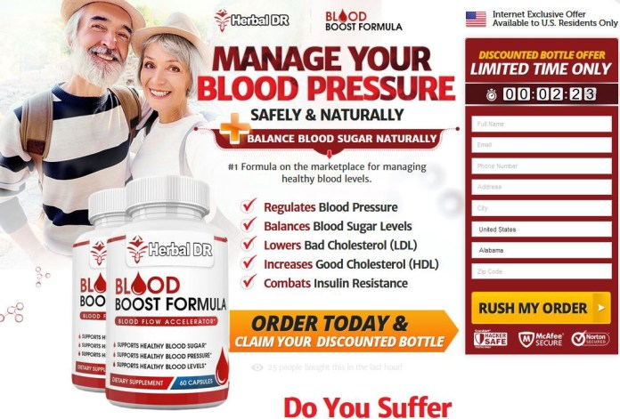 Herbal DR Blood Boost Formula