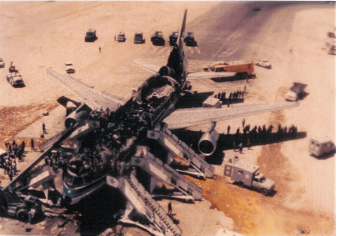 The tragedy of Saudia flight 163. On the 19th of August 1980, one of the… |  by Admiral_Cloudberg | Medium