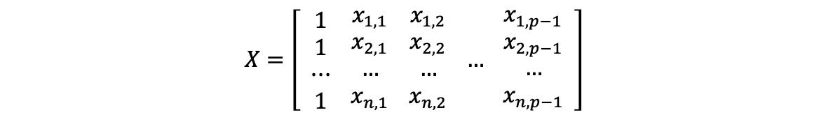 Linear Regression 5 Mlr Hat Matrix And Mlr Ols Evaluation By Adam Edelweiss Serenefield Medium