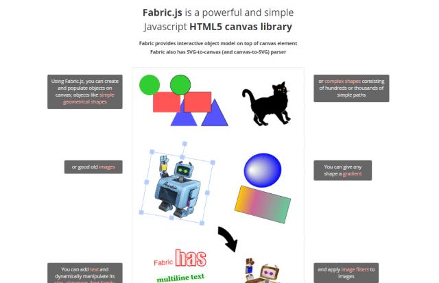 10 library javascript untuk manipulasi gambar Fabric.js