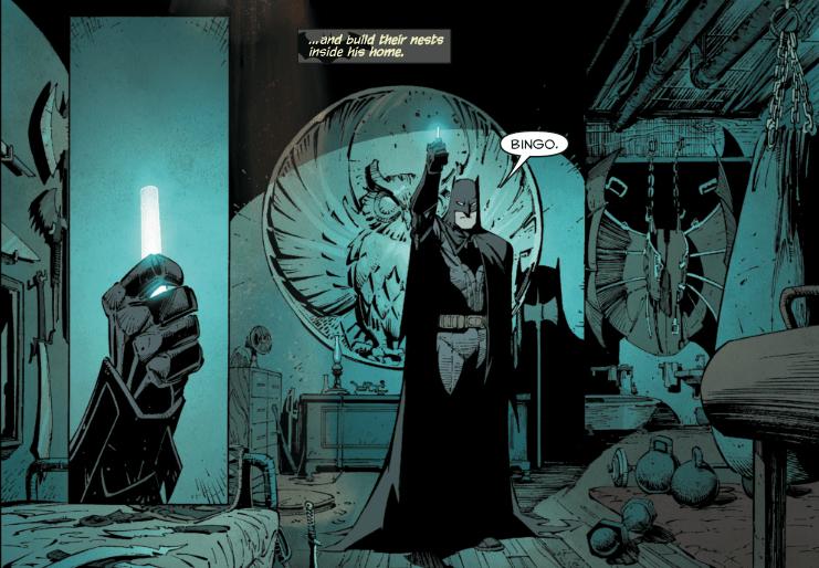 A Corte das Corujas precisa ser o próximo filme solo do Batman