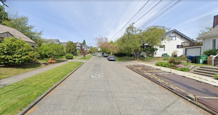 Inside the proposed Wallingford historic district. (Google Maps)
