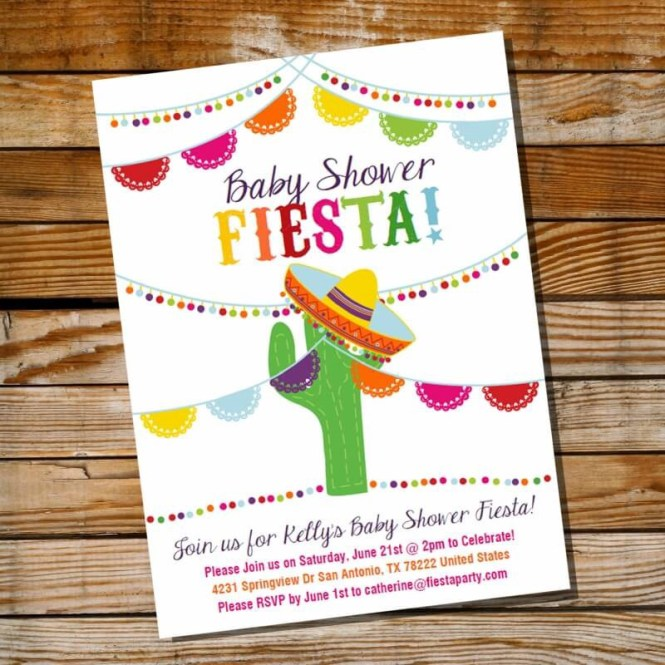 Mexican Themed Baby Shower Ideas