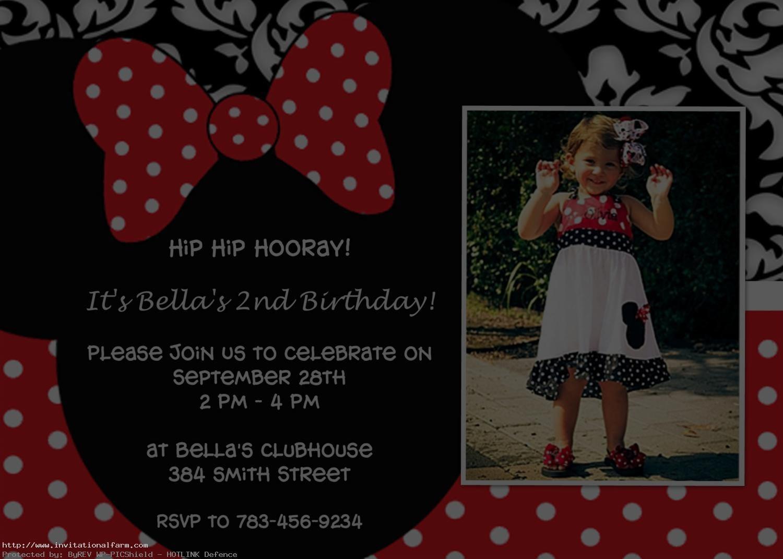 free minnie mouse 1st birthday