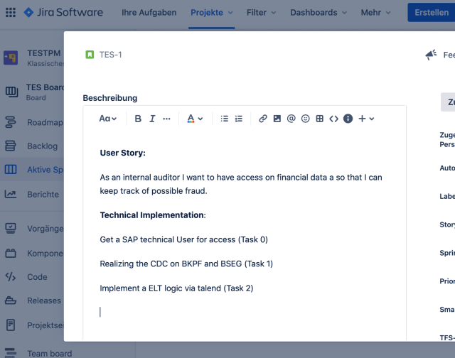 Using Jira and User Stories in Data Science  by Christianlauer