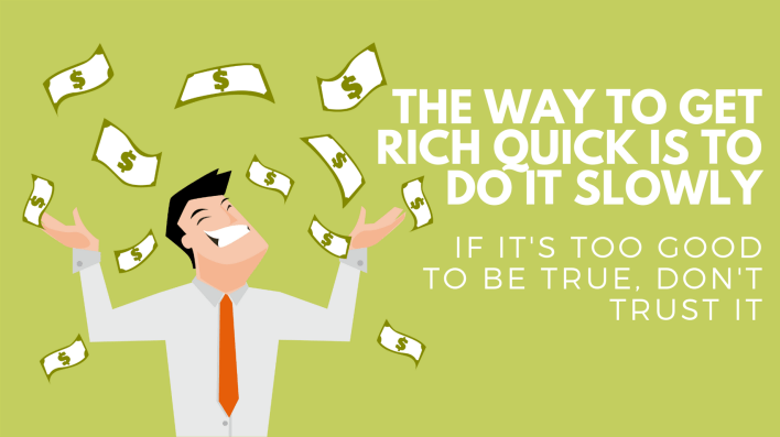 the way to get rich quick is to do it slowly | by kyle o'hagan | the startup | medium