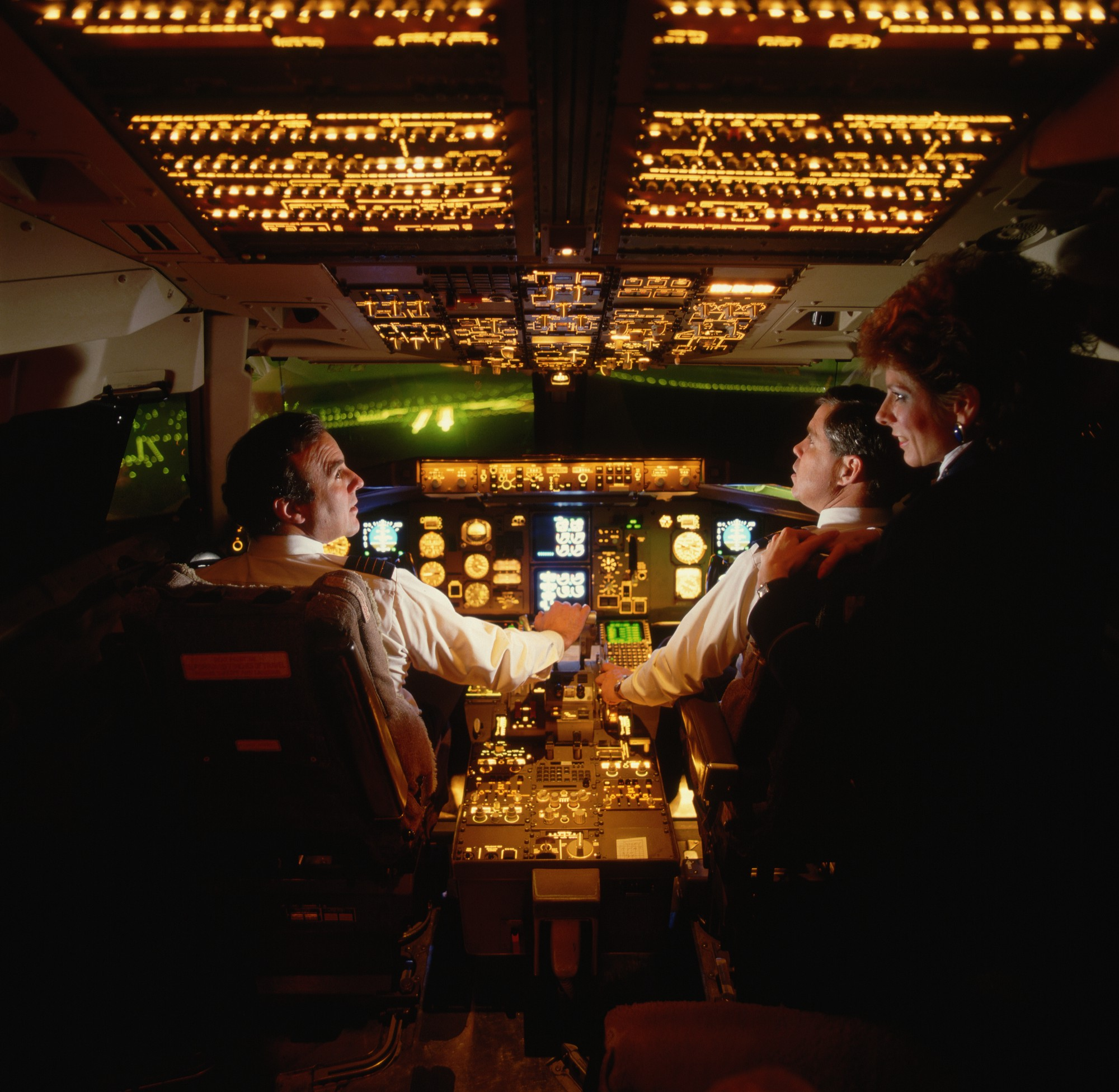 In Two Pilots Miraculously Landed A Jumbo Jet With