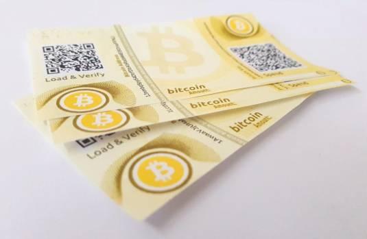 Resultado de imagem para bitcoin paper wallet