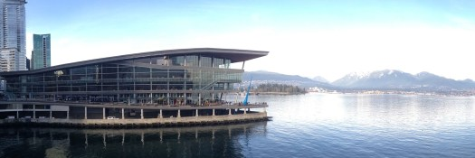The Vancouver Convention Centre is LEED-certified platinum.